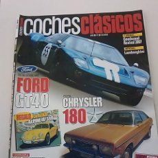 Coches: -COCHES CLASICOS N 32 -CHRYSLER 180 -FORD GT 40- ALFA ROMEO 6C 2500- PEGASO Z 102-. Lote 49108150