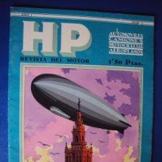 Coches: (RE-046)REVISTA HP AUTOMOVILES,CAMIONES,MOTOCICLETAS,AEROPLANOS,Nº 2,ABRIL 1930. Lote 49176592