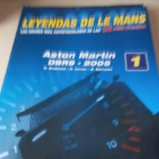 Coches: FASCÍCULO Nº 1 LEYENDAS DE LE MANS ASTON MARTIN DBR9 2.005. Lote 49542326