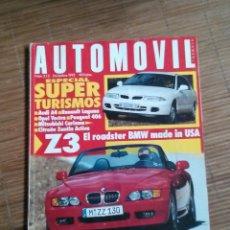 REVISTA AUTOMOVIL Nº 215 BMW Z 3 COCHES CLASICOS FORMULA 1 RALLYE AUDI A4