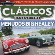 Coches: CLASICOS EXCLUSIVOS N. 92 - EN PORTADA: MENUDOS BIG HEALEY (NUEVA). Lote 164186328