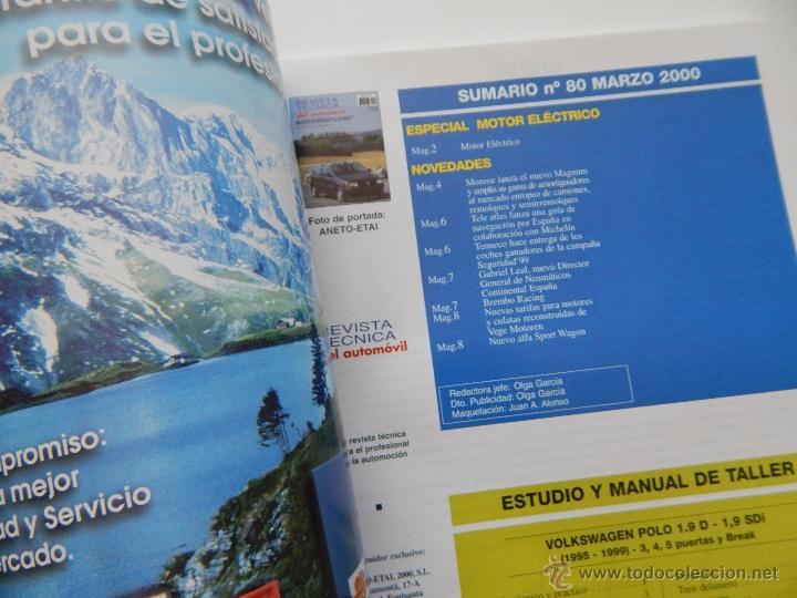 Coches: Revista Técnica del Automóvil 80. 2000. Motor eléctrico. Volkswagen Polo 1.9 D-Sdi (95-99) - Foto 3 - 50258903