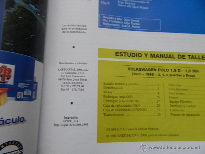 Coches: Revista Técnica del Automóvil 80. 2000. Motor eléctrico. Volkswagen Polo 1.9 D-Sdi (95-99) - Foto 4 - 50258903