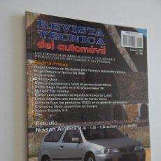 Coches: REVISTA TÉCNICA DEL AUTOMÓVIL 68. 1999 FRENOS NISSAN ALMERA (1.4I – 1.6I – 1.6I AUTOM. – 2.0 DIESEL). Lote 50259140