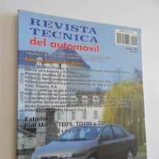 Coches: REVISTA TÉCNICA DEL AUTOMÓVIL 67. 1999. ELECTRICIDAD MOTOR. FIAT MAREA TD75, TD100 Y TD125. Lote 50259186