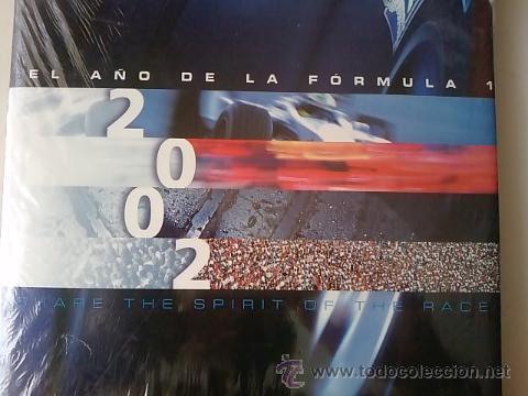 Coches: LIBRO -EL AÑO DE LA FORMULA 1 2002 -MICHELIN -FORMATO GRANDE-33 POR 26-EN SUS PLASTICOS- - Foto 3 - 50304288