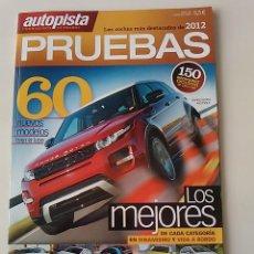 Coches: AUTOPISTA ESPECIAL PRUEBAS 2012. Lote 50305877