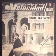 Carros: REVISTA VELOCIDAD NUMERO Nº 115 DE 1963 CITROEN 2 CV AZ -AM. Lote 50450695