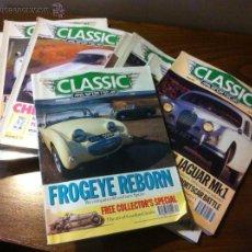 Coches: REVISTAS COCHES CLASICOS CLASSIC CARS, AUTO-RETRO.... Lote 127854687