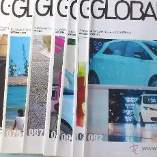 Coches: REV. GLOBAL RENAULT LOTE DE 9 +POSTERS F1. DEL 2009-12 EN FRANCES. Lote 50917939