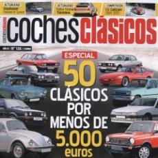 Coches: COCHES CLASICOS N. 126 - EN PORTADA: 50 CLASICOS POR MENOS DE 5.000 EUROS (NUEVA). Lote 180247243
