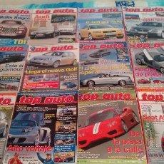 Coches: AÑO 2003 COMPLETO DE LA REVISTA TOP AUTO.. Lote 104333852