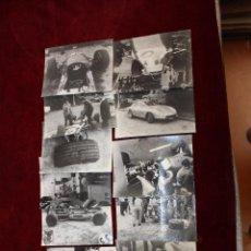 Coches: LOTE DE 13 FOTOGRAFÍAS ANTIGUAS DE AUTOMOVILISMO. POSIBLEMENTE ALGUN GRAN PREMIO. Lote 51472853