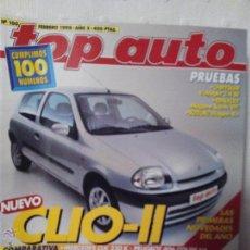 Coches: REVISTA TOP AUTO NUMERO 100 FEBRERO 1998. Lote 51605259