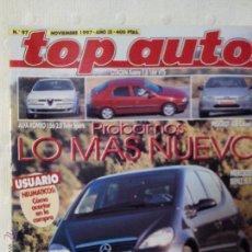 Coches: REVISTA TOP AUTO NUMERO 97 NOVIEMBRE 1997. Lote 51605328