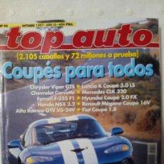 Coches: REVISTA TOP AUTO NUMERO 96 OCTUBRE 1997. Lote 51605427