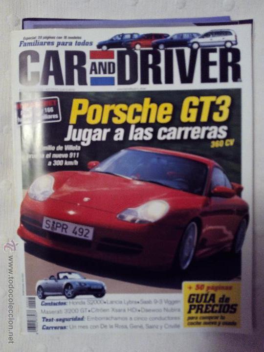 REVISTA CAR AND DRIVER NÚMERO 46 AÑO 1999 (Coches y Motocicletas Antiguas y Clásicas - Revistas de Coches)