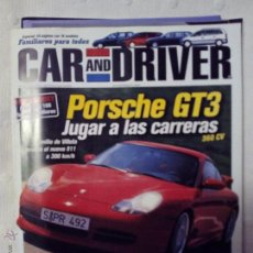Coches: REVISTA CAR AND DRIVER NÚMERO 46 AÑO 1999. Lote 51605480