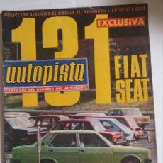Coches: REVISTA AUTOPISTA N° 815 - 21 SEPTIEMBRE 1974. Lote 51608425