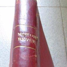 Coches: MOTOR REVUE EUROPA-MOTOR AÑO 1959. Lote 51726363