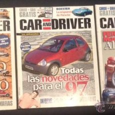 Coches: LOTE REVISTA CAR AND DRIVER 1996 Nº 12-13-14 . Lote 51810000