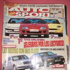 Coches: AUTO HEBDO SPORT; 509-510: COCHE DEPORTIVO 95; GAMA VOLVO ST. W95; GP ARGENTINA... NÚMERO EXTRA. Lote 51934137