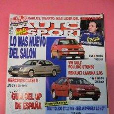 Coches: AUTO HEBDO SPORT 513: VW GOLF ROLLING STONES; AVANCE GP ESPAÑA; TOUR DE CORSE; JAIZKIBEL. Lote 51934277