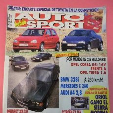 Coches: AUTO HEBDO SPORT 515: AUDI A4-BMW 328I-MERCEDES C280; CAMEL TROPHY; SIERRA MORENA; AVANCE ACROPOLIS. Lote 51934346