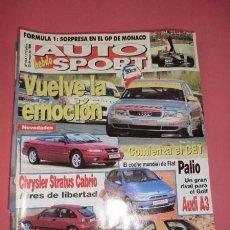 Coches: AUTO HEBDO SPORT 564: CET; FIAT PALIO; ROVER 200 VI; AUDI A3; STRATUS CABRIO; GP MONACO; SAXO VTS. Lote 51936358