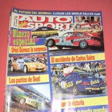 Coches: AUTO HEBDO SPORT 587/8: ESPECIAL RALLYE CATALUNYA; DEPORTIVOS 100-200 CV; FIAT MAREA; LLEGAN LOS WRC. Lote 51936407