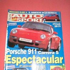 Coches: AUTO HEBDO SPORT 592: PORSCHE 911 CARRERA S; MONDEO V6 GT-VECTRA 2.5 V6 CDX; RALLY MASTERS 96; MERCE. Lote 51936464