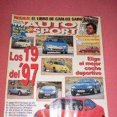 Coches: AUTO HEBDO SPORT 593/4: LOS 19 DEL 97; RENAULT ESPACE 97; SAXO GR. A; EQUIPO NISSAN DAKAR; BRAVO TD. Lote 51936500