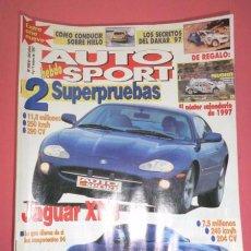 Coches: AUTO HEBDO SPORT 595/6: JAGUAR XK8; PORSCHE BOXSTER; CALENDARIO 97; DAKAR 97; BMW 535-MERCEDES E320. Lote 51936778