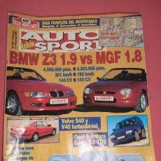 Coches: AUTO HEBDO SPORT 597: BMW Z3-MGF 1.8; DAKAR; ENSAYOS JEREZ; SUBARU WR CATALUÑA; FRONTERA SPORT. Lote 51936802