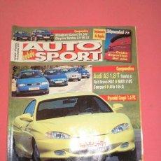Coches: AUTO HEBDO SPORT 609: AUDI A3 1.8 T; GALANT V6-STRATUS 2.5 V6; SUPLEMENTO HYUNDAI; GENERAL MOTORS. Lote 51936907