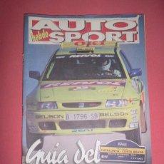 Coches: AUTO HEBDO SPORT : GUÍA DEL XXXII RALLYE CATALUNYA - COSTA BRAVA. 1996. Lote 51936985