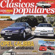 Coches: CLASICOS POPULARES N. 17 - EN PORTADA: OPEL CALIBRA (NUEVA). Lote 178636461