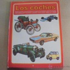 Coches: LOS COCHES / PLAZA JANES - 1979 - MARAVILLOSAS ILUSTRACIONES. Lote 52146033
