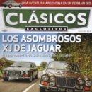Coches: CLASICOS EXCLUSIVOS N. 95 - EN PORTADA: LOS ASOMBROSOS XJ DE JAGUAR (NUEVA). Lote 164186668