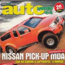 Coches - REVISTA AUTO VERDE Nº 239 AÑO 2009. PRU: FORD KUGA 2.0 TDCI. MAZDA BT50. COMP: MITSUBISHI OUTLANDER - 52408815