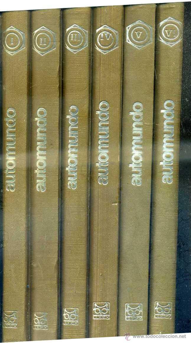 Coches: AUTOMUNDO CODEX - 6 TOMOS (1969) - Foto 6 - 32190259