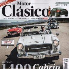 Autos - MOTOR CLASICO N. 328 NOVIEMBRE 2015 - EN PORTADA: SEAT/FIAT 1400 CABRIO (NUEVA) - 52766054