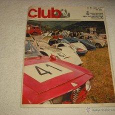 Coches: REAL AUTOMOVIL CLUB DE CATALUÑA . REVISTA MENSUAL N. 61 . 1968. Lote 52882802