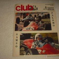 Coches: REAL AUTOMOVIL CLUB DE CATALUÑA . REVISTA MENSUAL N. 53 . 1967 . PALOMO, SAMSO. Lote 52882833