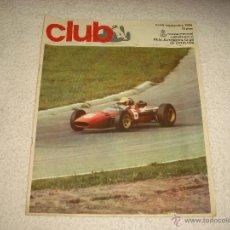 Coches: REAL AUTOMOVIL CLUB DE CATALUÑA . REVISTA MENSUAL N. 40 . 1966. Lote 52902607