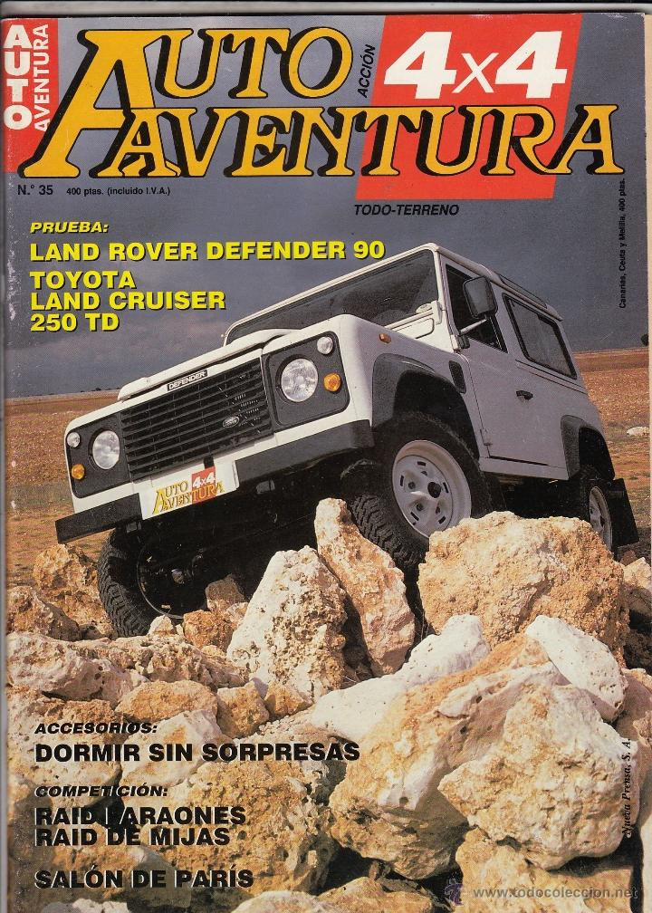 revista auto aventura nº 35 año 1990. prueba: l - kaufen alte