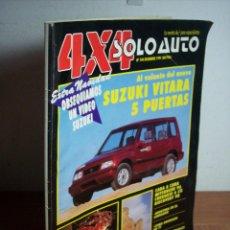 Coches: 4X4 SOLO AUTO Nº 104 (DICIEMBRE 1991) SUZUKI VITARA 5 PUERTAS / SALON DE TOKIO. Lote 53240224