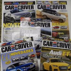 Coches: 5 REVISTAS CAR AND DRIVER. Lote 53381554