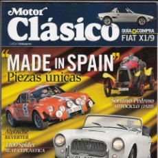 Auto: REVISTA MOTOR CLASICO Nº 284 AÑOI 2011. DOSSIER: MADE IN SPAIN. PRU: OLDSMOBILE TORONADO SUCTOM S2.. Lote 204249925