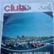 Coches: REVISTA CLUB. REAL AUTOMOVIL CLUB DE CATALUNYA 1972. N. 106. Lote 53461068